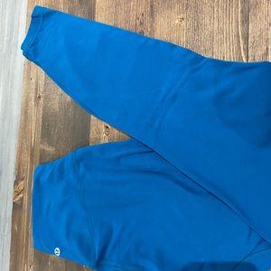 Blue Lululemon Align Leggings